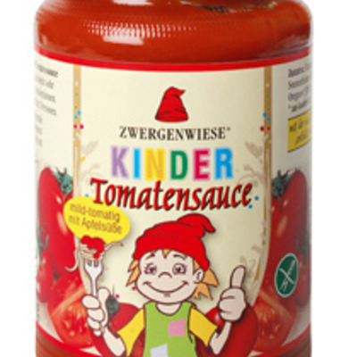 Kinder tomaten sauce