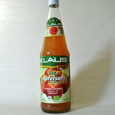 Apfelsaft bio