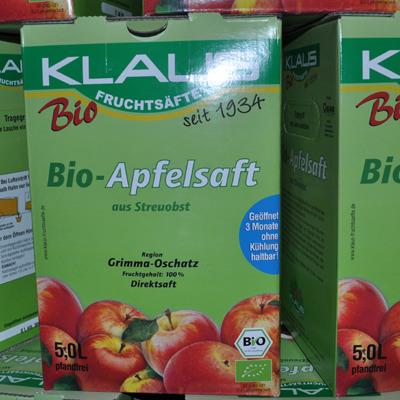 Apfelsaft bio 5l