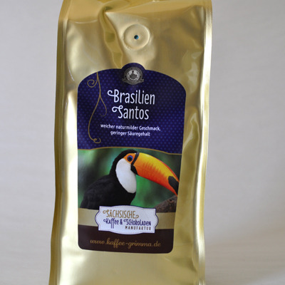 Kaffee brasilien santos