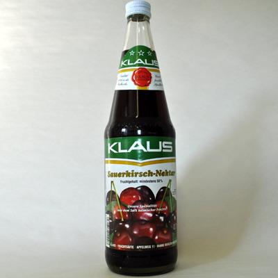Sauerkirsch nektar