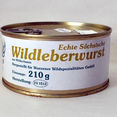 Wildleberwurst
