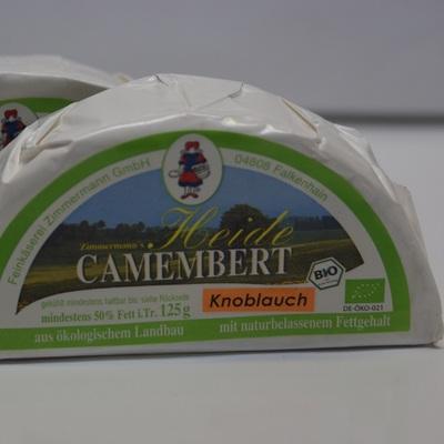 Heidecamembert knoblauch